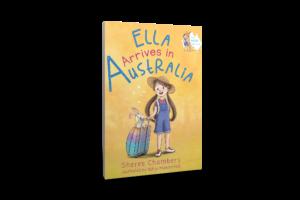 Ella Arrives in Australia Book Cover