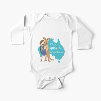 Baby one-piece long-sleeves